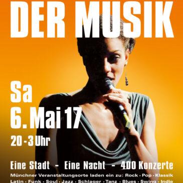 Lange Nacht der Musik – Samstag 6. Mai 2017
